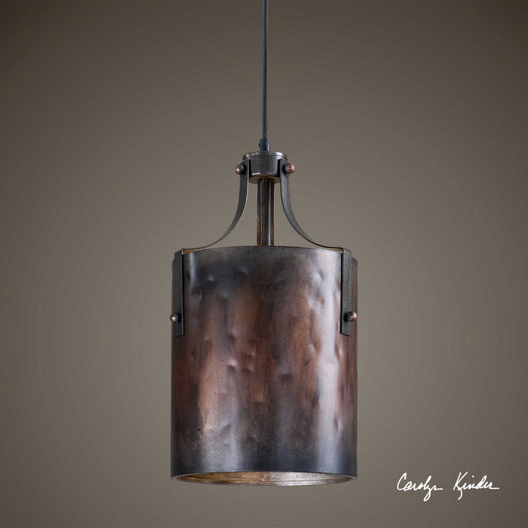 Akron 1 Lt. Mini Pendant by Uttermost