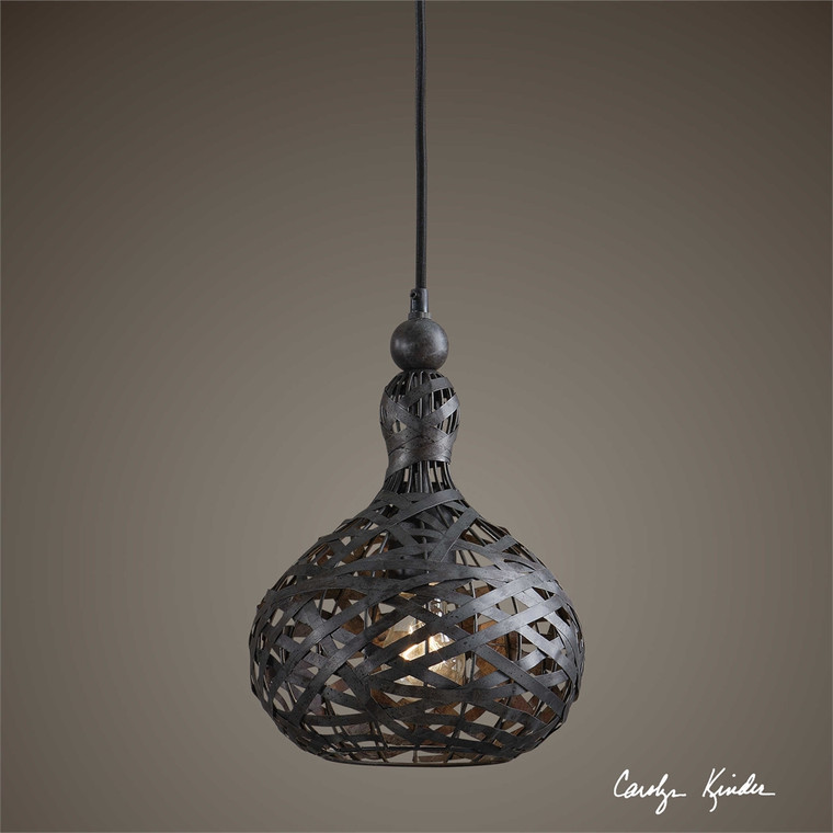 Alita Industrial 1 Lt Mini Pendant - by Uttermost