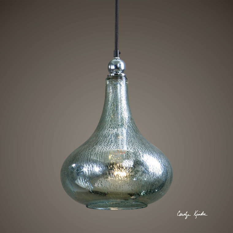 Norbello 1 Lt Mini Pendant by Uttermost