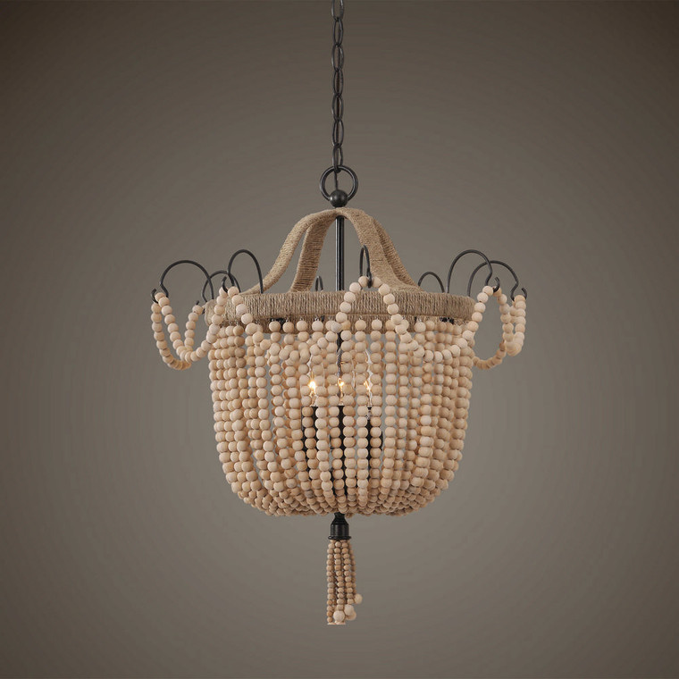 Civenna 3 Lt. Pendant by Uttermost