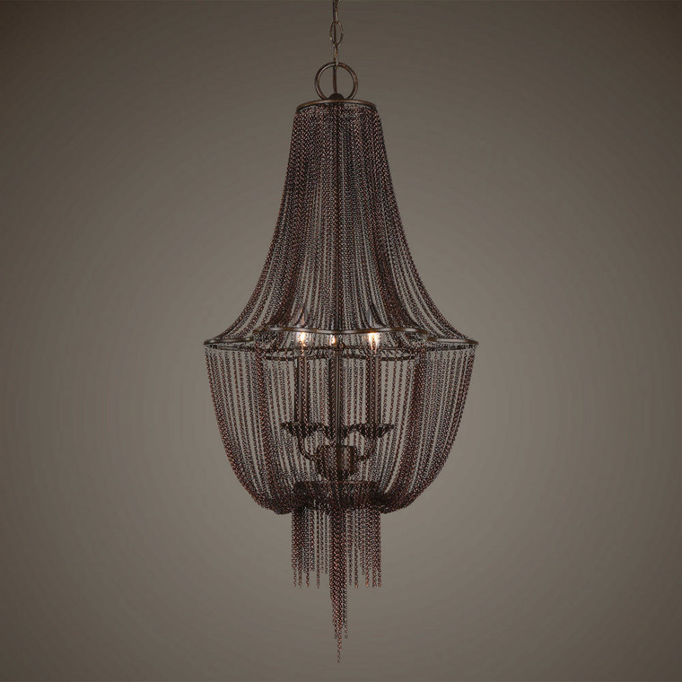 Lezzeno 3 Lt Chandelier by Uttermost