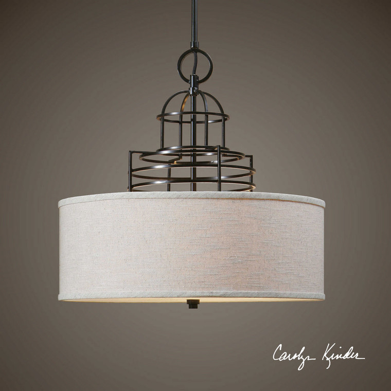 Cupola 4 Lt. Pendant by Uttermost