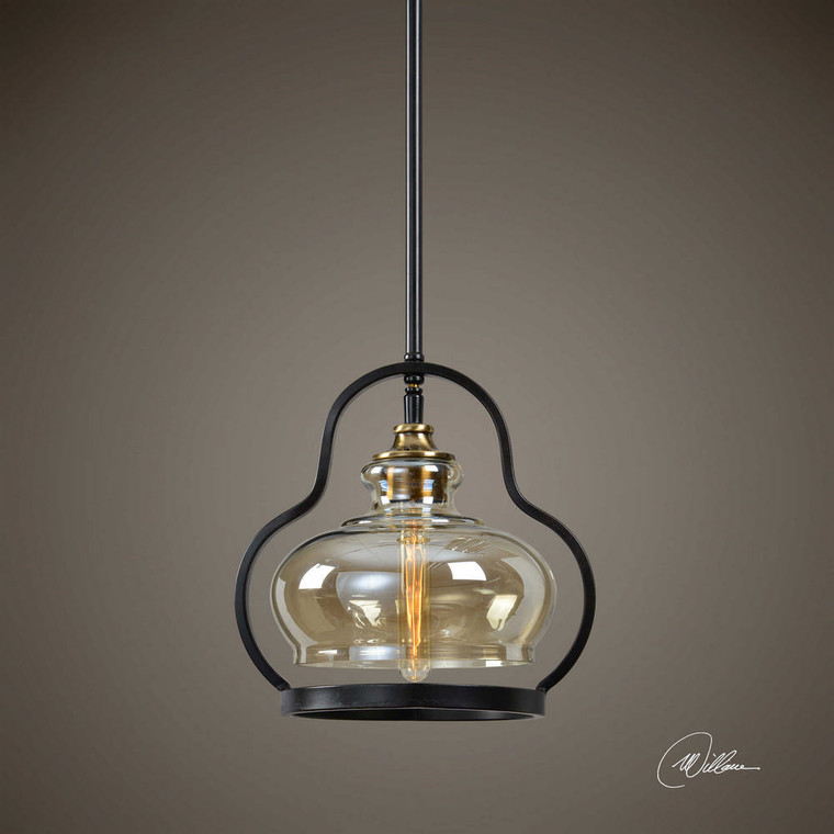 Cotulla 1 Lt. Mini Pendant by Uttermost