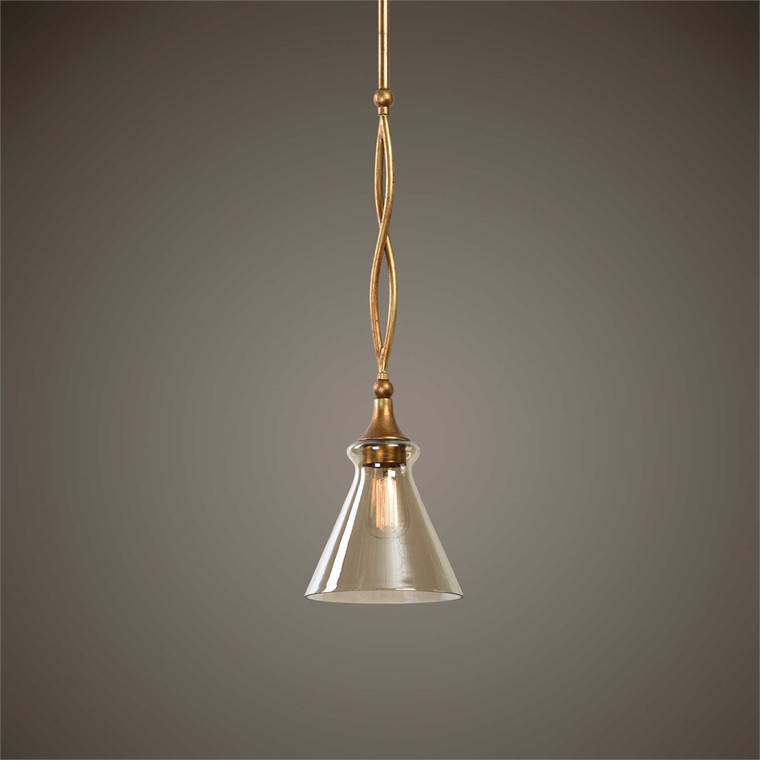 Glam 1 Lt. Mini Pendant - by Uttermost