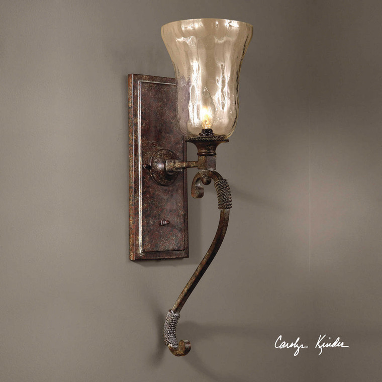 Galeana 1 Lt Wall Sconce by Uttermost