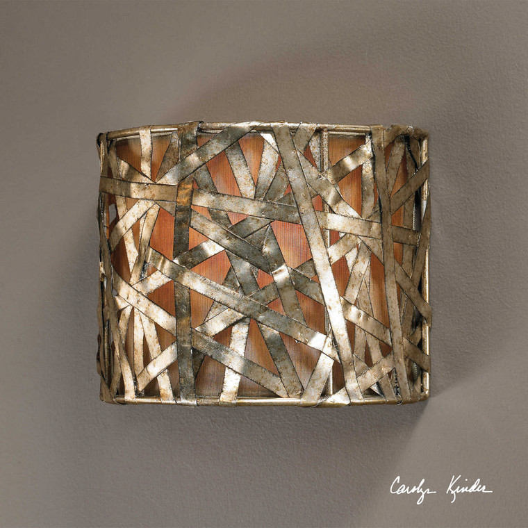 Alita Champagne 1 Lt Wall Sconce by Uttermost