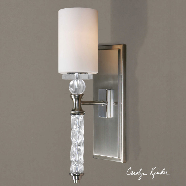 Campania 1 Lt  Wall Sconce by Uttermost