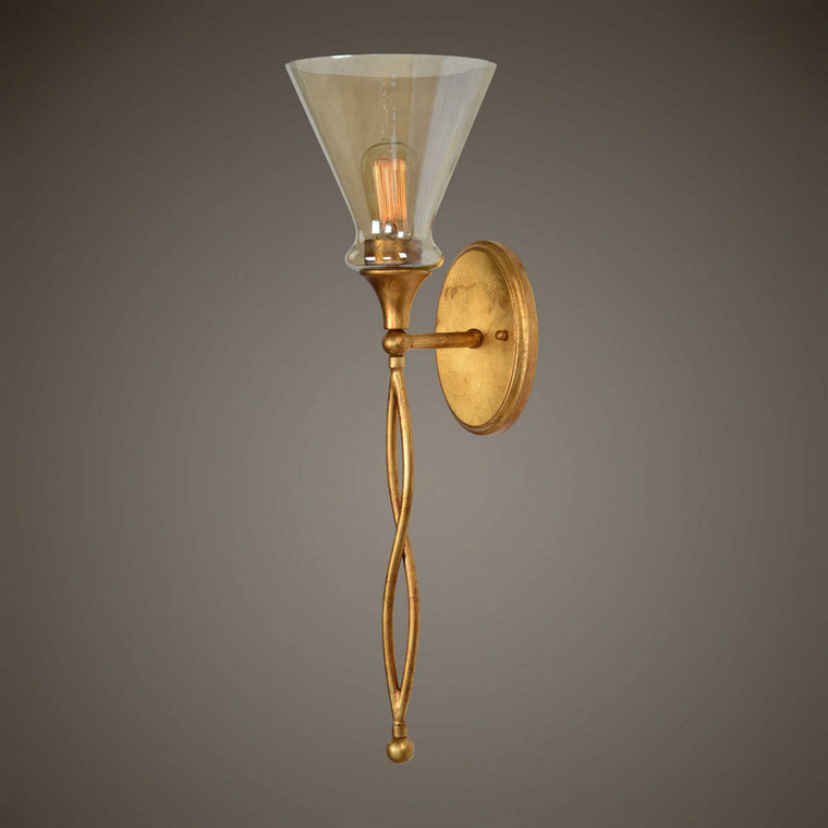 Glam 1 Lt. Sconce by Uttermost