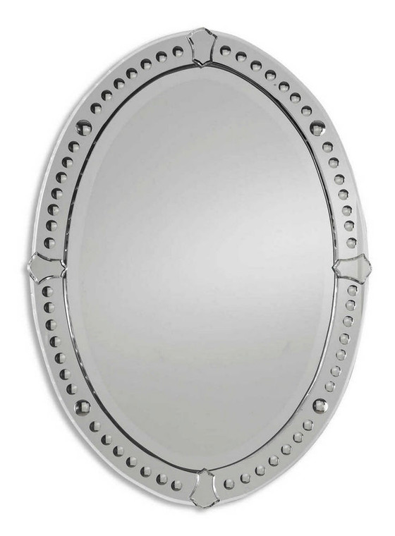 Graziano Oval Mirror by Uttermost