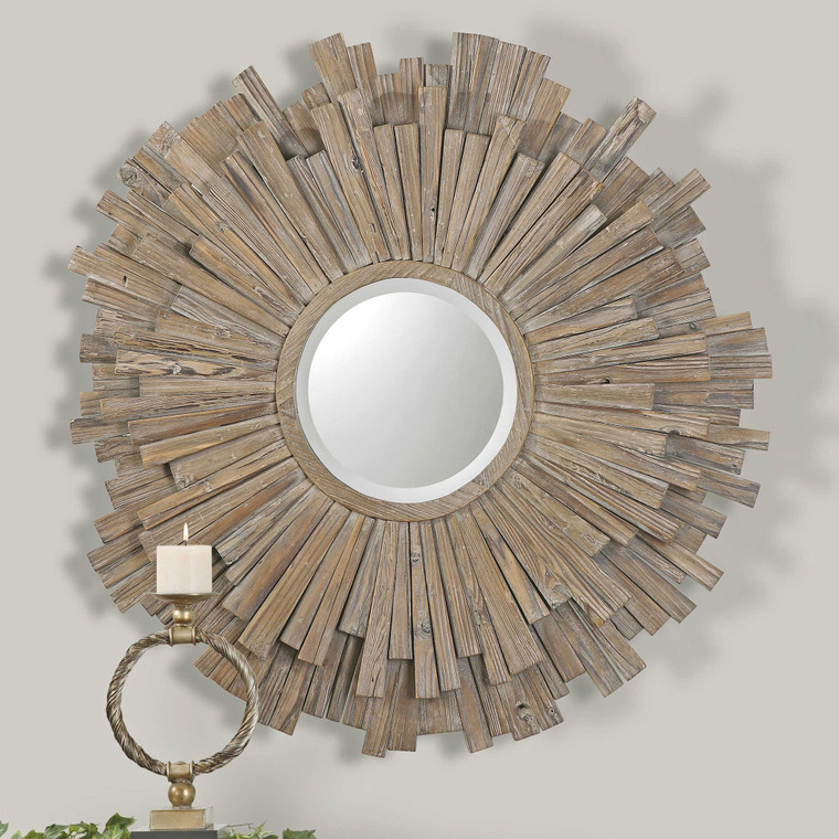 Vermundo Round Mirror by Uttermost