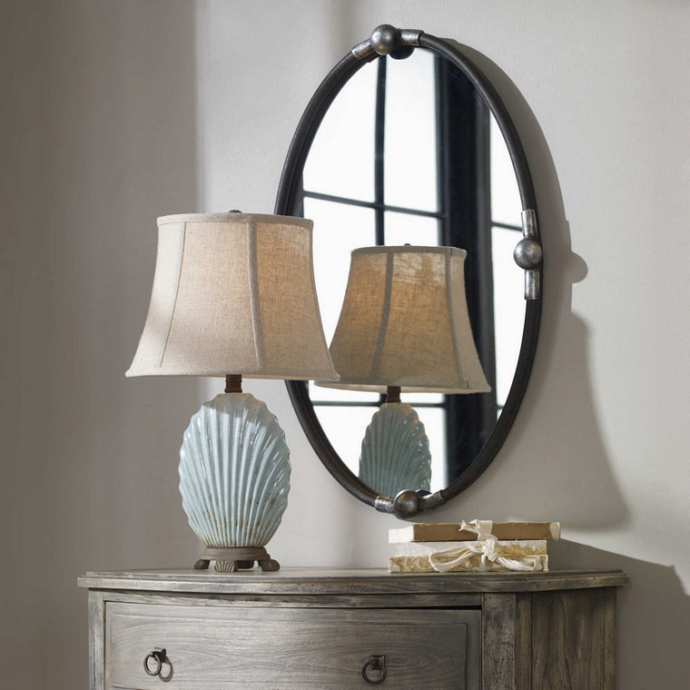 Carrick Oval Mirror by Uttermost