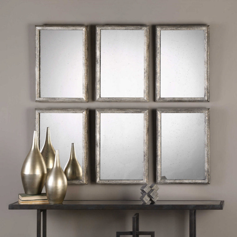 Alcona Vanity Mirrors S/3 by Uttermost