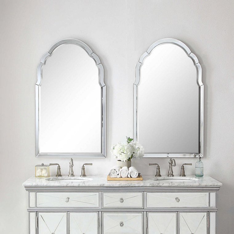 Brayden Frameless Mirror by Uttermost