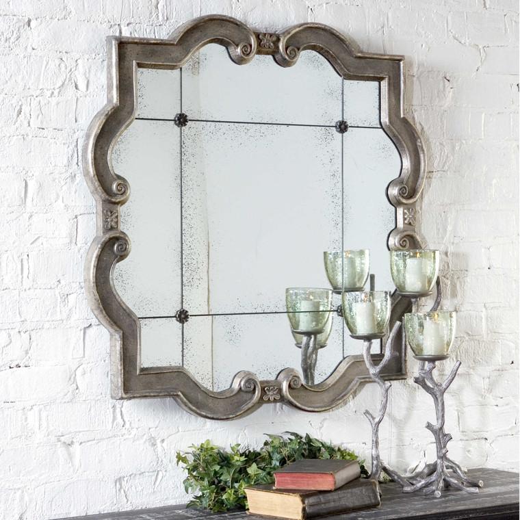 Prisca Quatrefoil Mirror by Uttermost