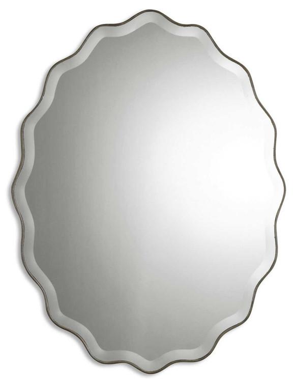Teodora Oval Mirror by Uttermost