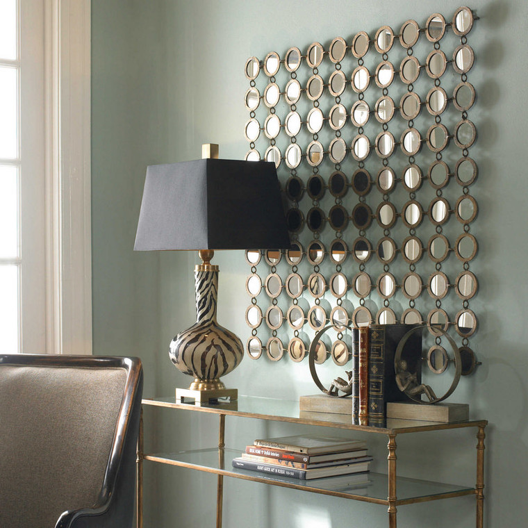 Dinuba Mirrored Wall Decor by Uttermost