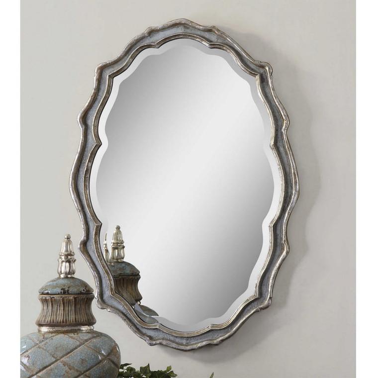 Dorgali Oval Mirror by Uttermost