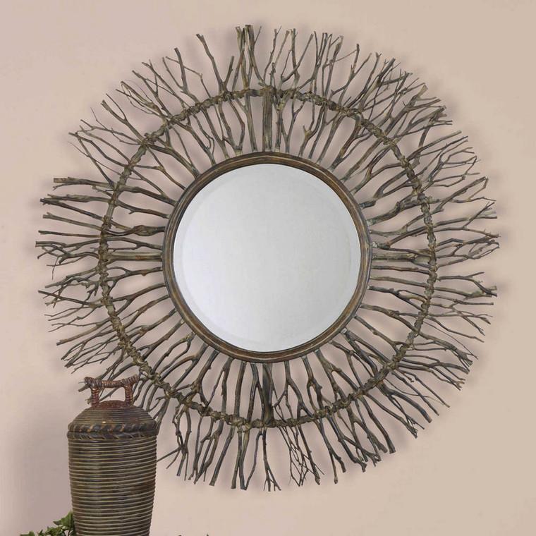 Josiah Round Mirror by Uttermost