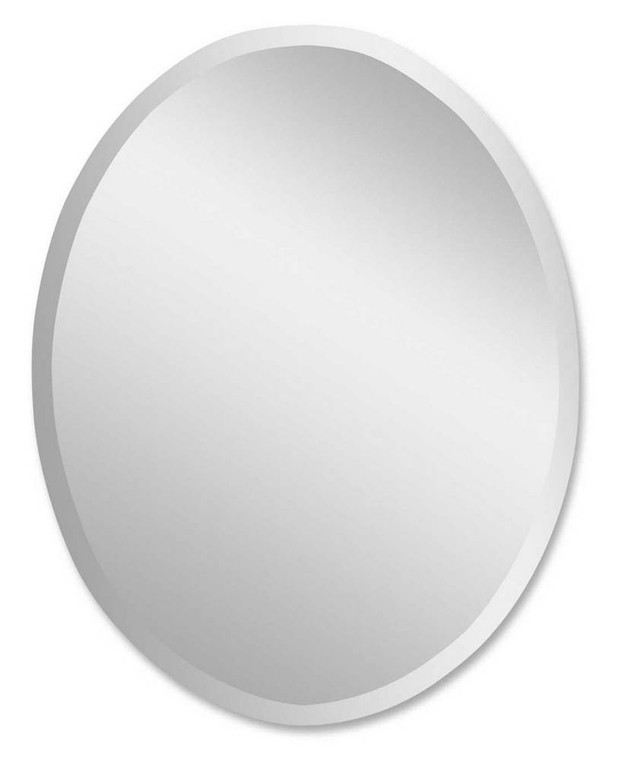 Large Oval Mirror by Uttermost