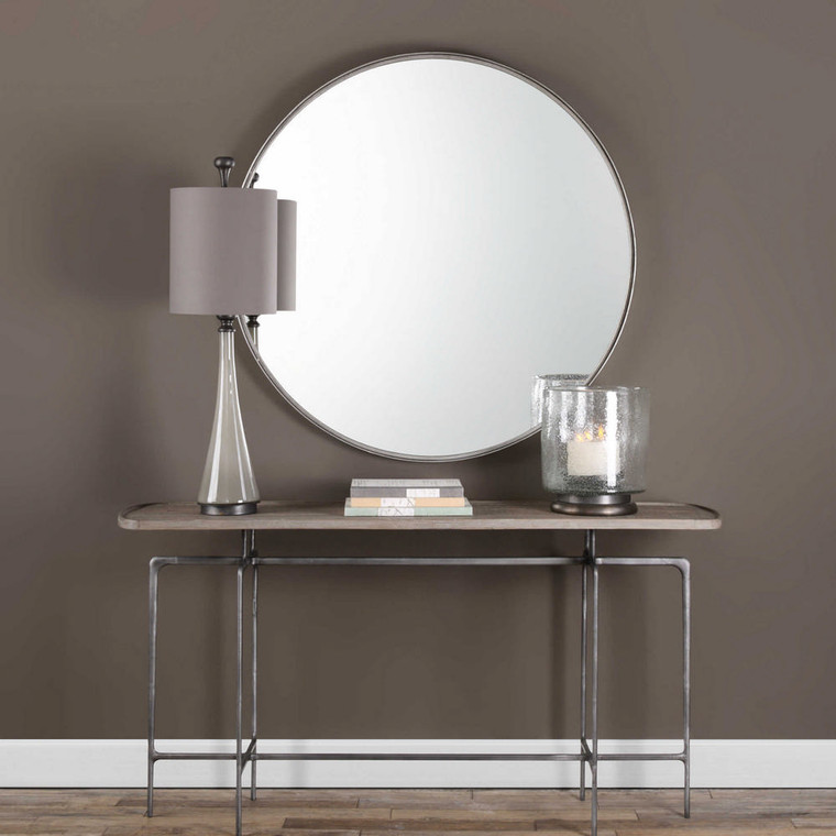 Agoura Round Mirror by Uttermost
