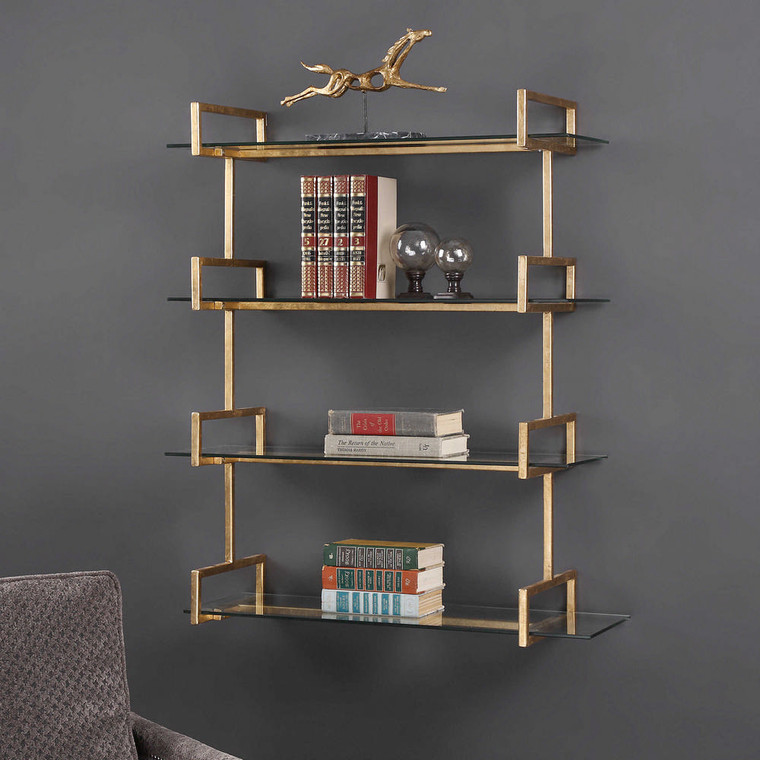 Auley Wall Shelf by Uttermost