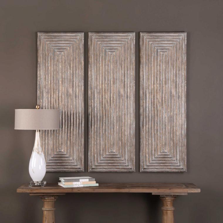 Lokono Wood Wall Panel by Uttermost