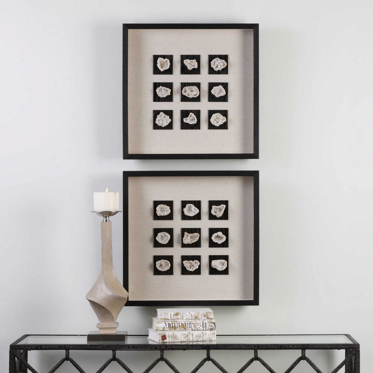 Geode Shadow Box by Uttermost