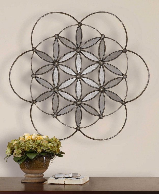 Baiano Mirrored Wall Decor by Uttermost