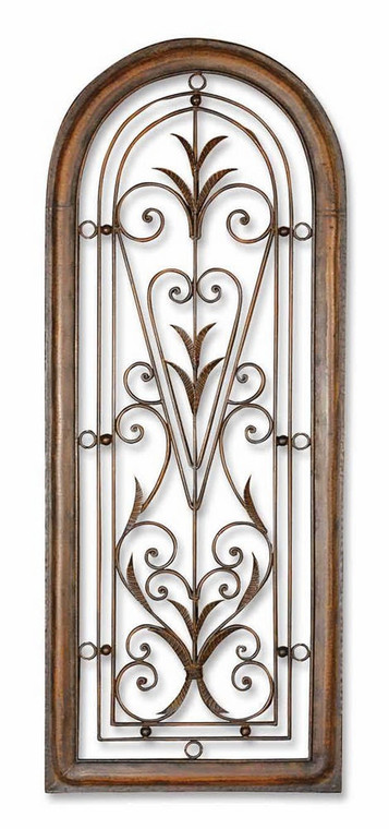 Cristy Petite Metal Wall Decor by Uttermost