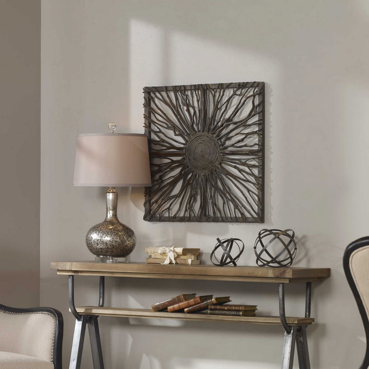 Josiah Wood Wall Decor by Uttermost