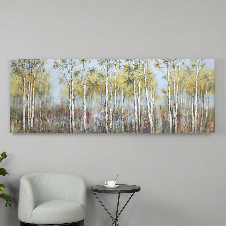 Guardians Of The Lake Hand Painted Canvas by Uttermost