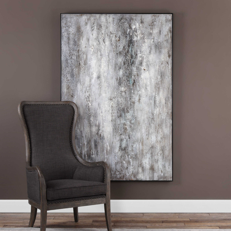 Quake Hand Painted Canvas by Uttermost