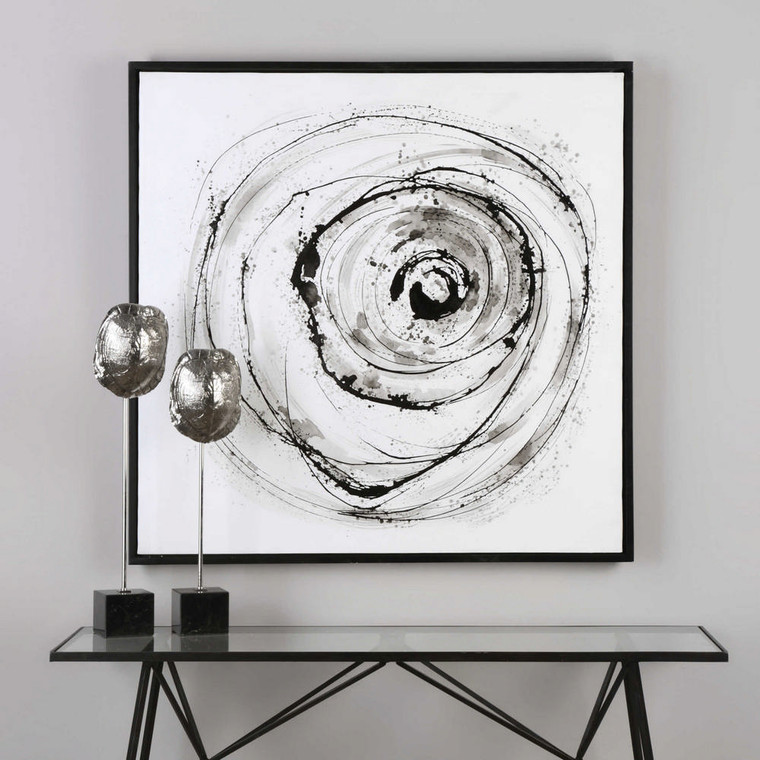 Eye On The World Hand Painted Canvas by Uttermost