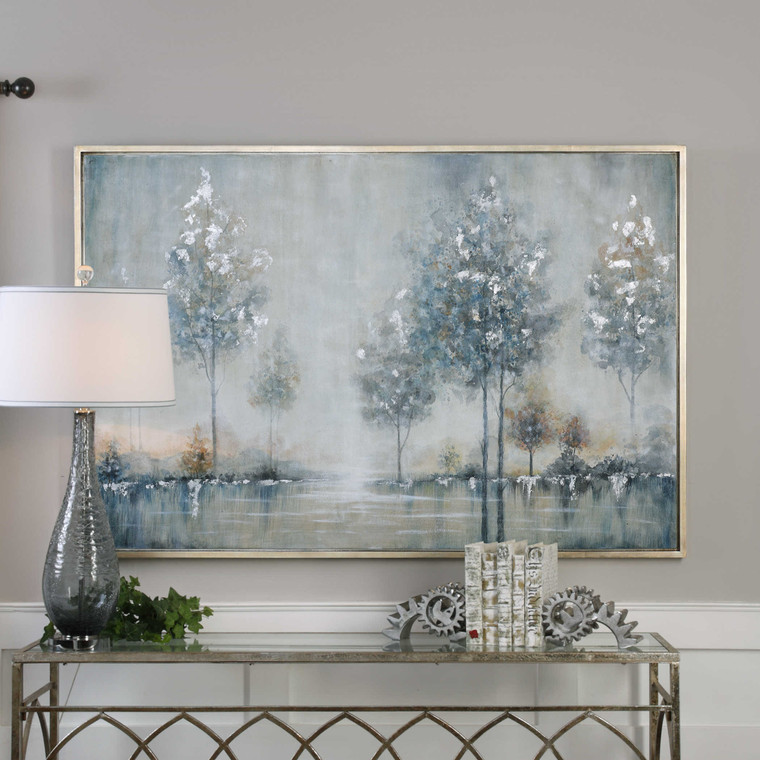Walk In The Meadow Hand Painted Canvas by Uttermost