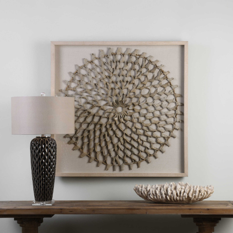 Palm Art Shadow Box by Uttermost