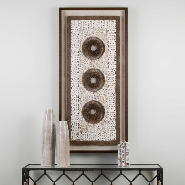 Paper Art Shadow Box by Uttermost
