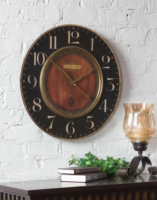 Alexandre Martinot 58cm Wall Clock by Uttermost