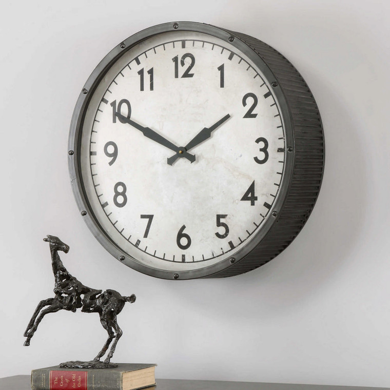 Berta Wall Clock by Uttermost