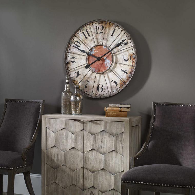 Ellsworth Wall Clock by Uttermost
