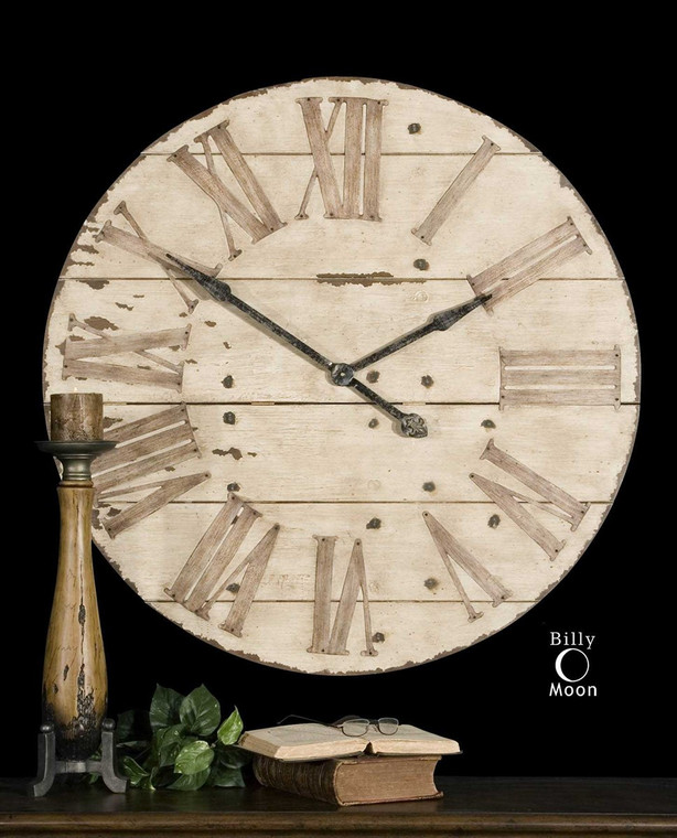 Harrington Wall Clock by Uttermost