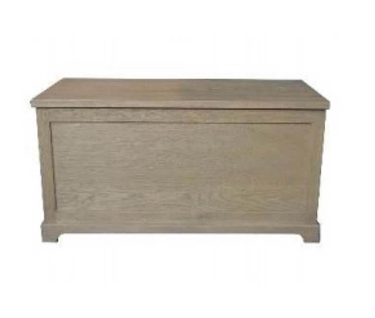 Pascal Storage Trunk - Weathered Oak