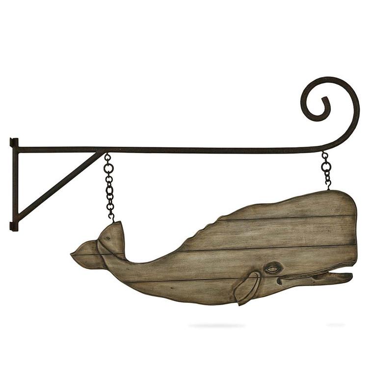 Moby w/ Hanger - Size: 62H x 122W x 3D (cm)