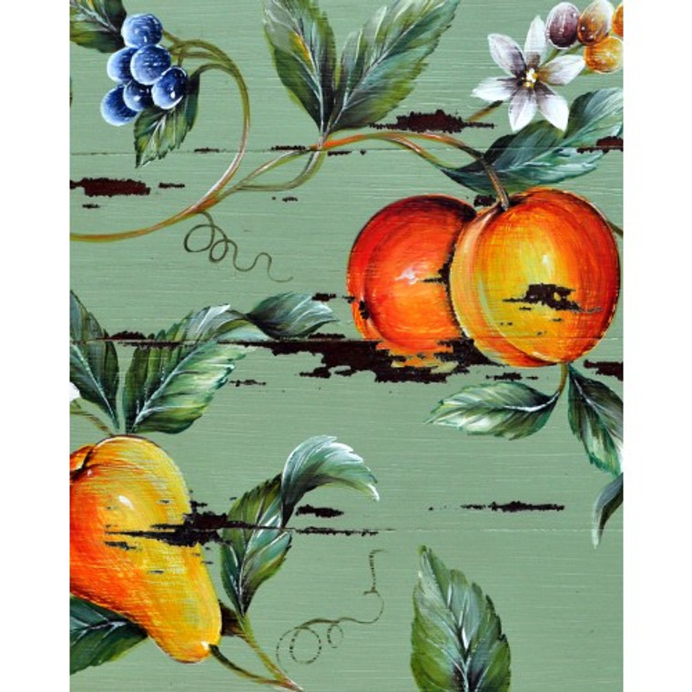 A174 Flowers, Berries, Pears & Oranges by Bramble Co
