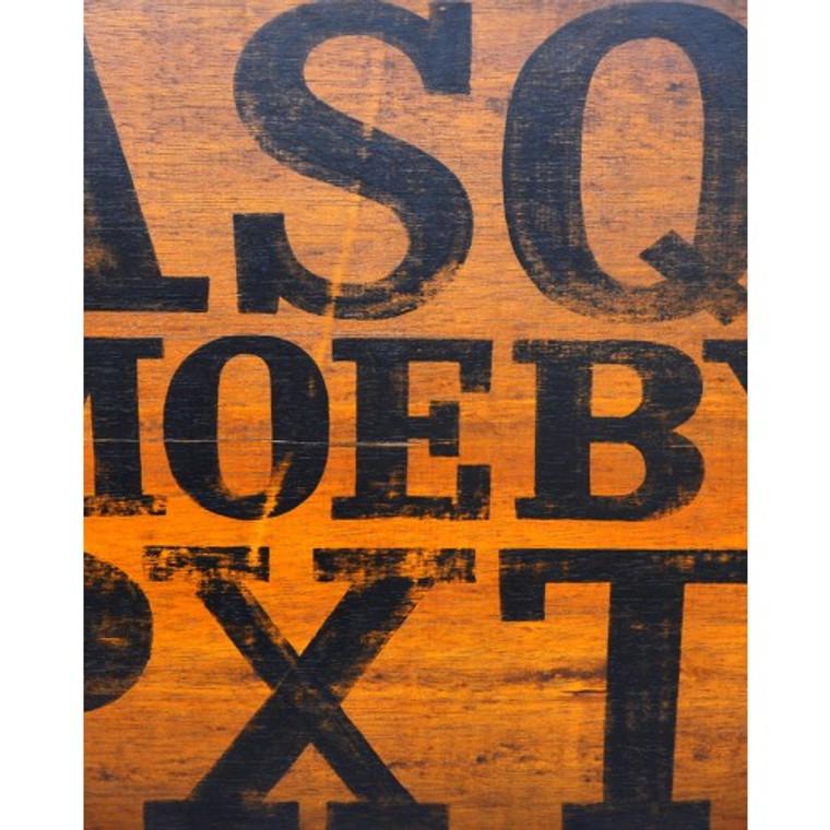 A175 Black Letters by Bramble Co