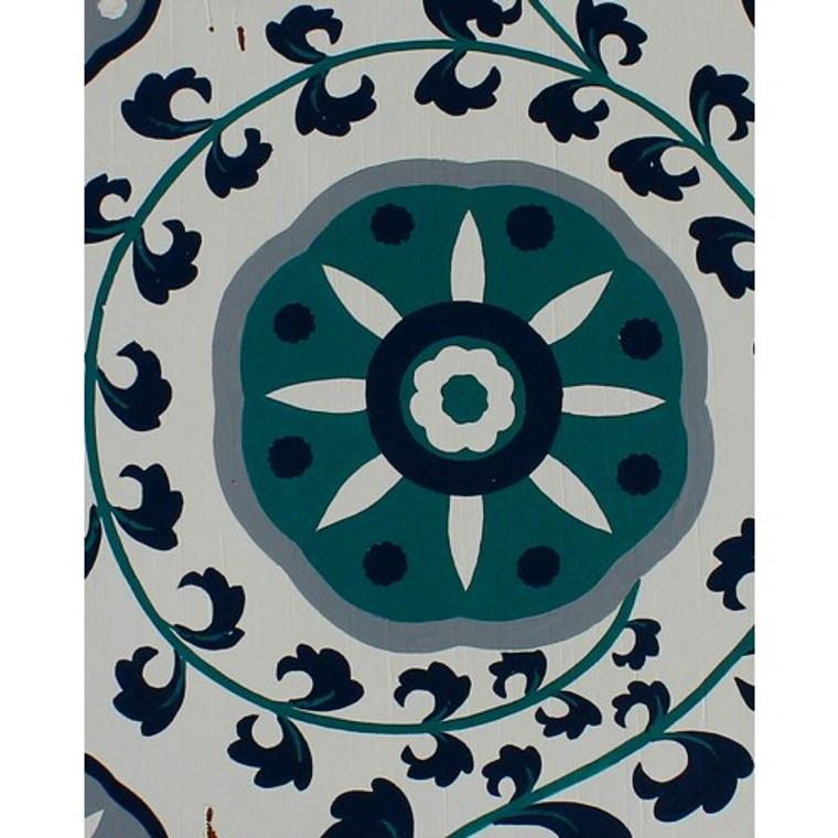 A414 Pinwheel Blue by Bramble Co