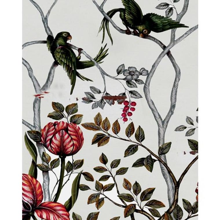 A49 Floral Tulips & Parrots by Bramble Co