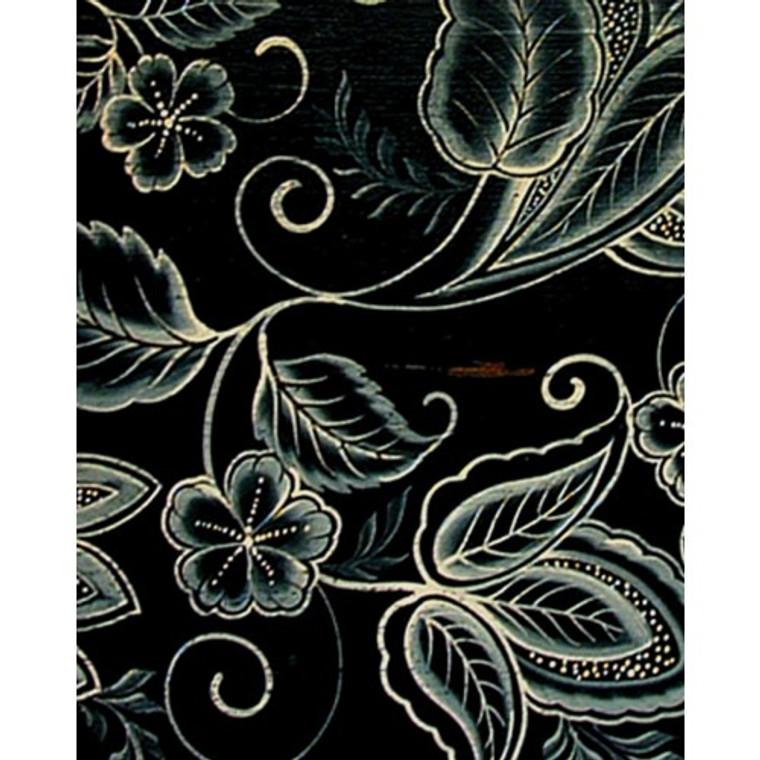 A65 White Paisley Floral Design by Bramble Co
