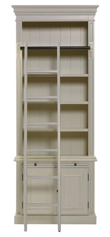 Bella House Classic 2 Door Bookcase + Ladder