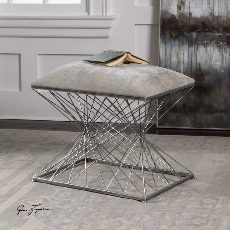 Zelia Small Bench by Uttermost