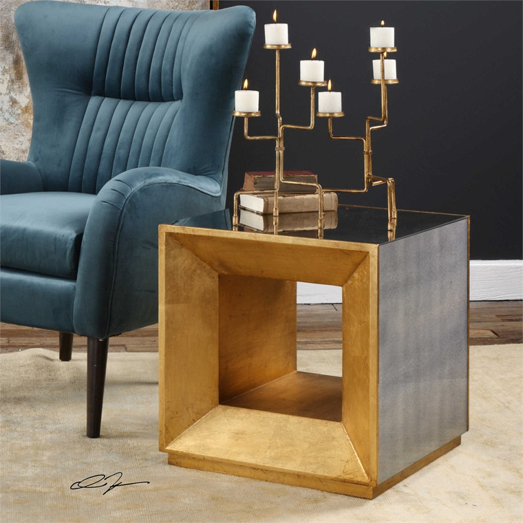 Flair Cube Table - by Uttermost